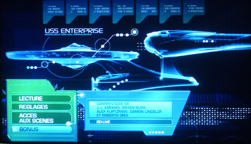 capture blu ray Star Trek 2