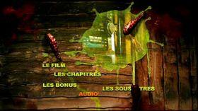 Le menu principal du DVD