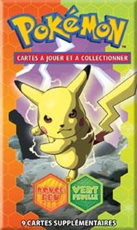 Pokemon JCC : Ex Rouge Feu & Vert Feuille