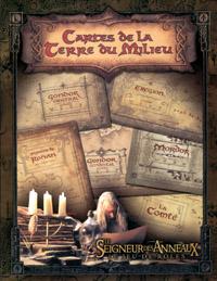 Seigneur des Anneaux - Le jeu de rôle : Cartes de la Terre du Milieu