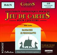 Les Colons de Catane - le jeu de cartes : Barbares & Négociants