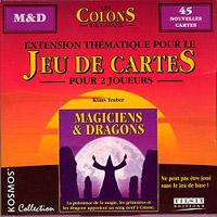 Les Colons de Catane - le jeu de cartes : Magiciens et Dragons