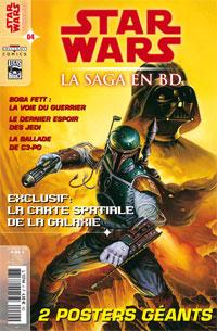 Star Wars BD Magazine : Star Wars - La Saga en BD  4