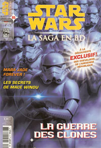 Star Wars BD Magazine : Star Wars - La Saga en BD  5