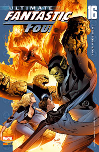Ultimate Les 4 fantastiques : ULTIMATE FANTASTIC FOUR 16