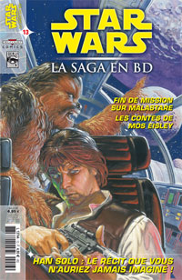 Star Wars BD Magazine : Star Wars - La Saga en BD 13