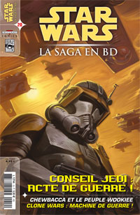 Star Wars BD Magazine : Star Wars - La Saga en BD 20