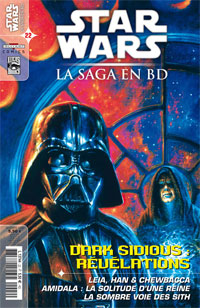 Star Wars BD Magazine : Star Wars - La Saga en BD 22