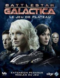 Battlestar Galactica, le jeu de plateau : Battlestar Galactica - Pegasus