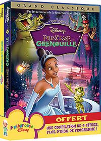 La Princesse et la grenouille 2 DVD