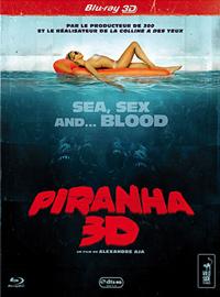 Piranha 3D - Edition Collector - Blu-Ray - Versions 2D et 3D