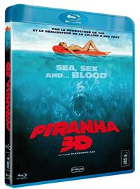 Piranha 3D - Blu-Ray - Versions 2D et REAL 3D Active