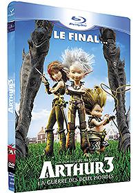Arthur et la guerre des deux mondes : Arthur 3 : La guerre des deux mondes - Édition Blu-ray + DVD