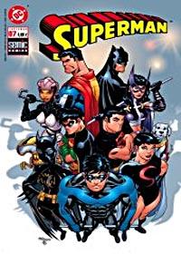 Superman - comics Semic : Superman # 7