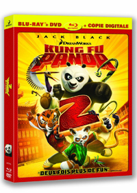 Kung Fu Panda 2 Blu-ray + DVD + Copie digitale