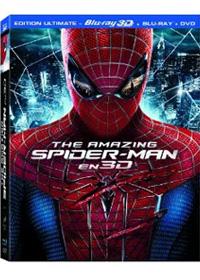 The Amazing Spider-Man : Amazing Spider-Man Blu-ray 3D + Blu-ray + DVD