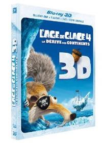 L'Âge de glace : La dérive des continents - 3D : L'Age de glace 4 : La dérive des continents - Combo Blu-ray 3D