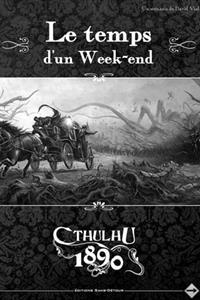 Cthulhu 1890 : Ecran de jeu