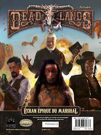 Deadlands reloaded : Ecran épique du marshall