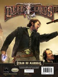 Deadlands reloaded : Ecran du marshall
