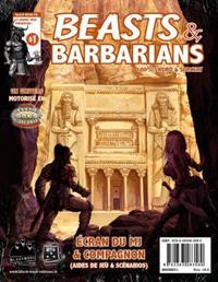 Beasts & Barbarians : Ecran du MJ & Compagnon