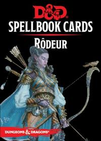Dungeons & Dragons 5ème édition : Spellbook Cards : Rôdeur