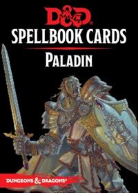 Dungeons & Dragons 5ème édition : Spellbook Cards : Paladin