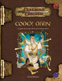 Dungeons & Dragons 3ème édition : Codex divin - édition 3.5