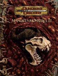 Dungeons & Dragons 3ème édition : Manuel des monstres III - édition 3.5