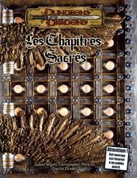 Dungeons & Dragons 3ème édition : Les Chapitres Sacrés