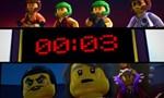 LEGO Ninjago Les maîtres du Spinjitzu 4x04 ● Un combat qui roule