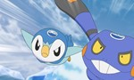 Pokémon 19x08 ● Don't Give In, Piplup! An Ice Floe Race in the Sinnoh Region!!