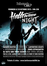 Halloween Night 2015 à Bellewaerde