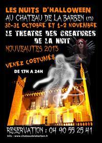 Les nuits d'Halloween au Chateau de la Barben