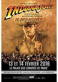 Ciné concert Indiana Jones au Palais des Congrès