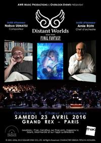 Concert Distant Worlds – Paris 2016