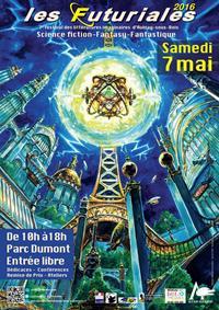 Les Futuriales 2016 - 7ème festival des littératures imaginaires d'Aulnay-sous-bois