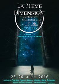 La 71ème Dimension – Les 2èmes rencontres de l'imaginaire