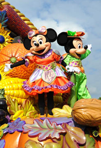 Festival Halloween Disneyland Paris 2016