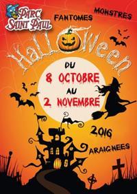 Halloween 2016 au parc Saint-Paul