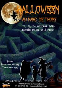Soirées Halloween dans le labyrinthe hanté du château de Thoiry