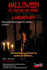 Murder Party d'Halloween au chateau de Thoiry