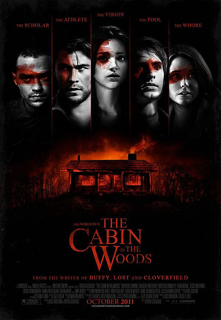 affiche Cabin in the woods