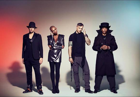 le groupe de punk/rock alternatif Skunk Anansie