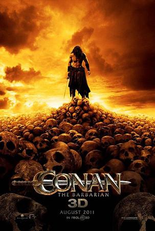 première affiche de Conan 2011