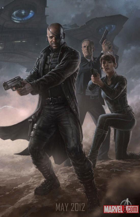 Nick Fury affiche
