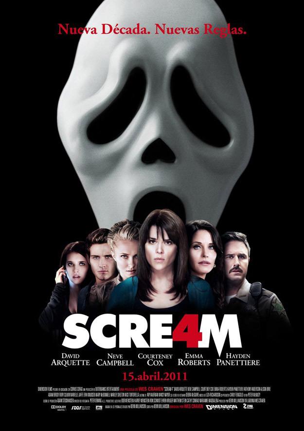 Affiche Scream 4