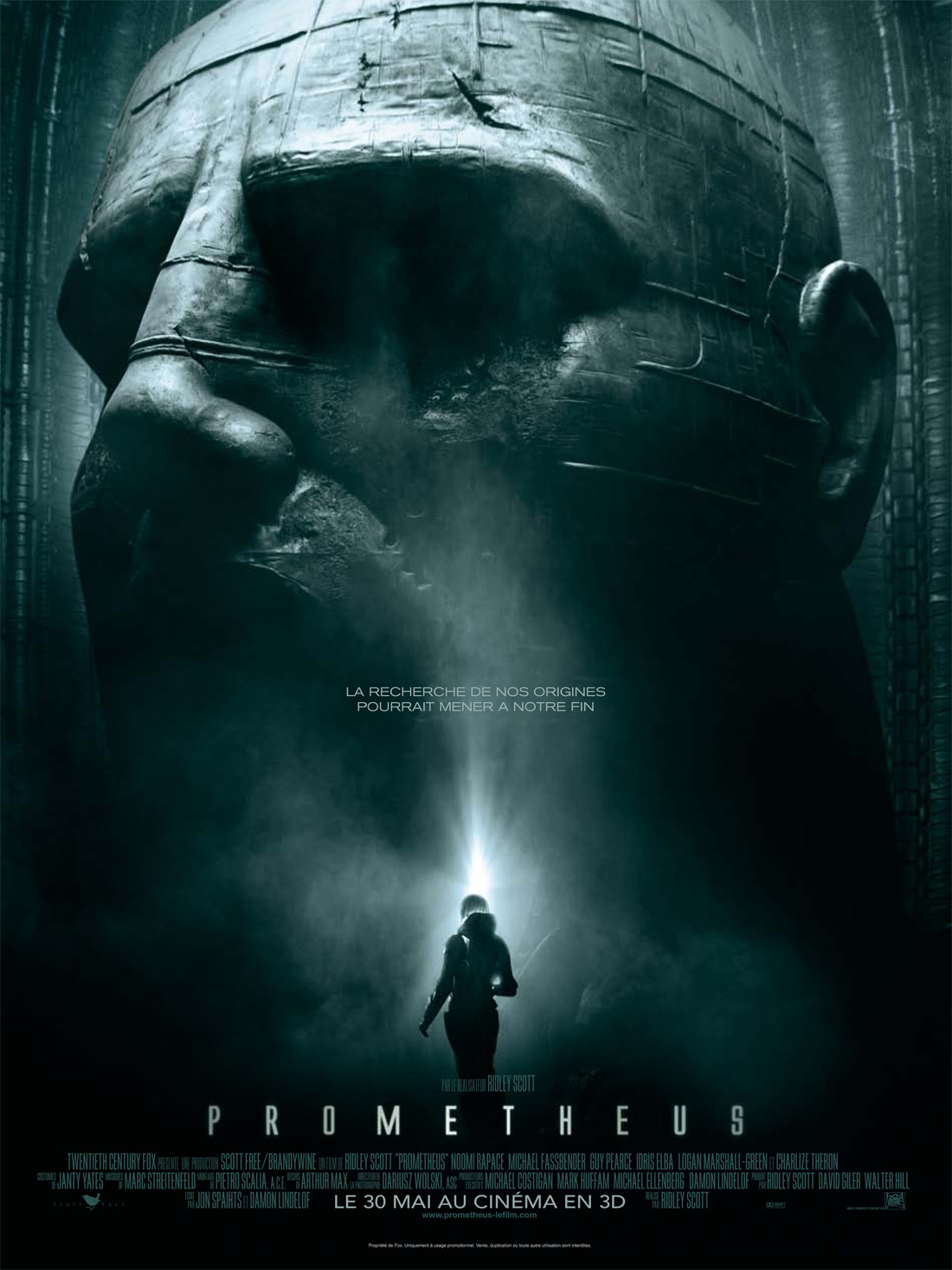 Affiche teaser Prometheus