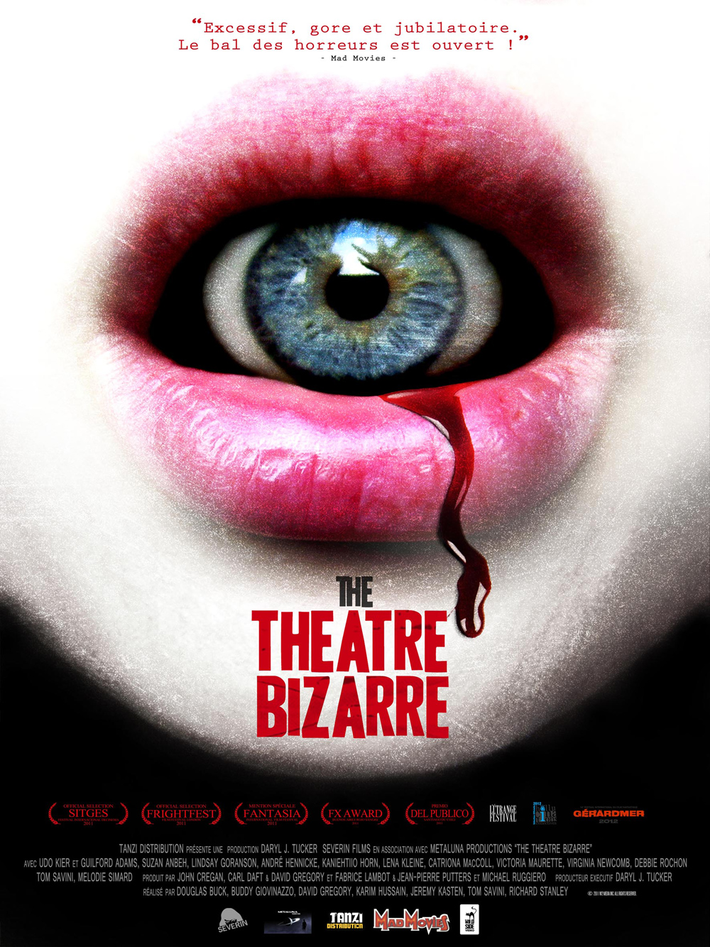 Affiche Theatre of Bizare