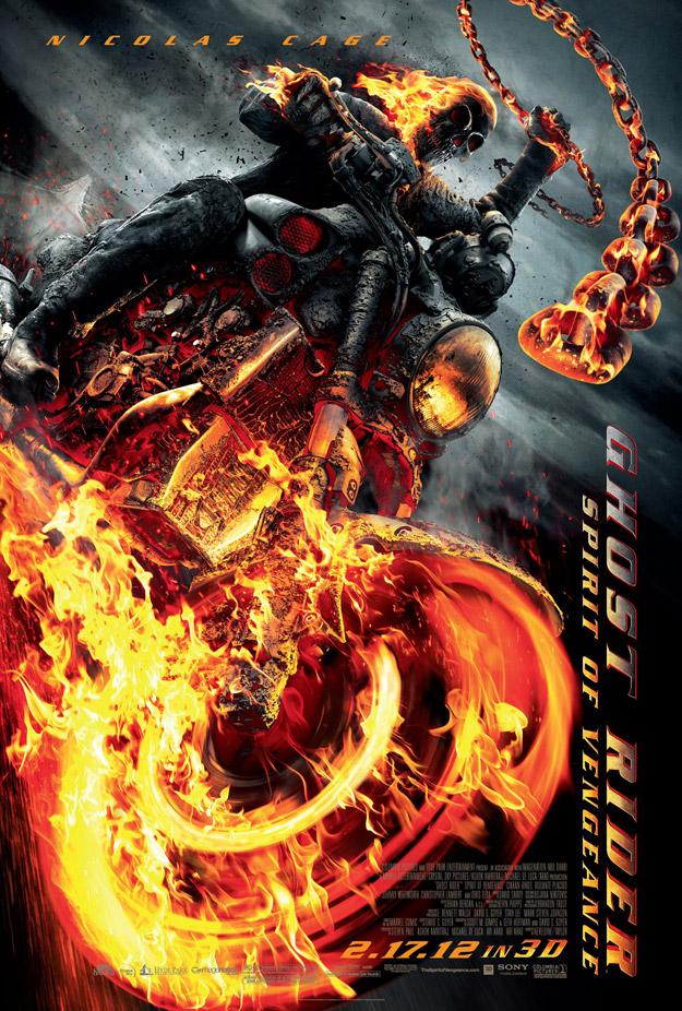 Ghost Rider2 affiche teaser